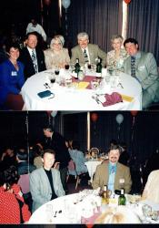 30th Reunion - Top L to R - Diane (Banks) Dickinson, Ron Dickinson, ???, Jerry Williscroft, ???, Gavin Murray. Bottom L