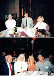 30th Reunion - Top L to R - Hetty Roessingh, Don Cottrell, Nancy (Marble) Richards.                     Bottom L to R -